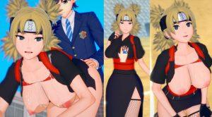 【爆乳エロゲーアニメ動画&画像 テマリ(ナルト) コイカツ!版権キャラカード配布情報あり!(Naruto)