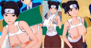 【爆乳エロゲーアニメ動画&画像 テンテン(ナルト) コイカツ!版権キャラカード配布情報あり!(Naruto)